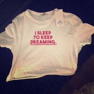 Cropped Zara T-shirt